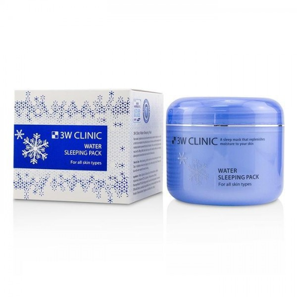 3W Clinic Water Sleeping Pack 100ml to Moisturize your skin while sleeping