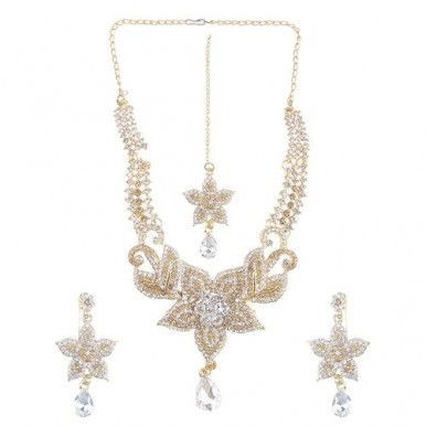 Star jewellery Set Champagne Colour
