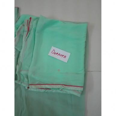 Chiffon Embroderied suit with Chiffon dupatta Vinay Parachi 4115