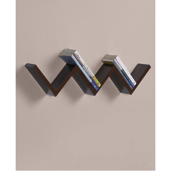 Zigzag Wall Shelf For Books