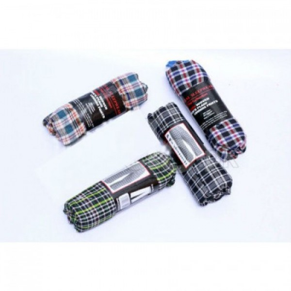 Pack of 03 Checkered Pajama for casual wear