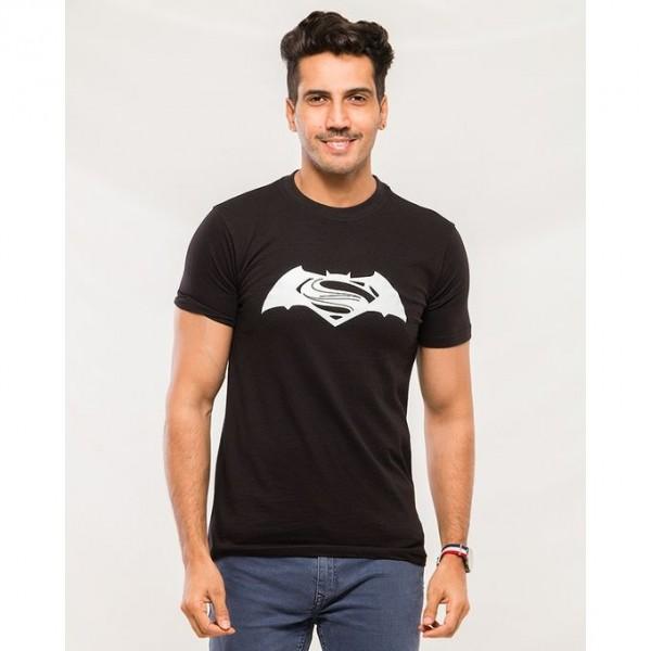Superman Vs Batman Black Graphics T shirt