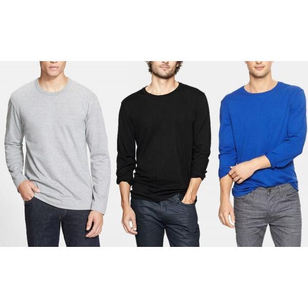 Pack of 03 Full Sleeves Tshirts - MT28