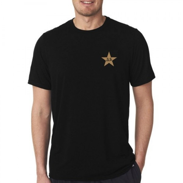 Black Round Neck T shirt - Independence Day Special