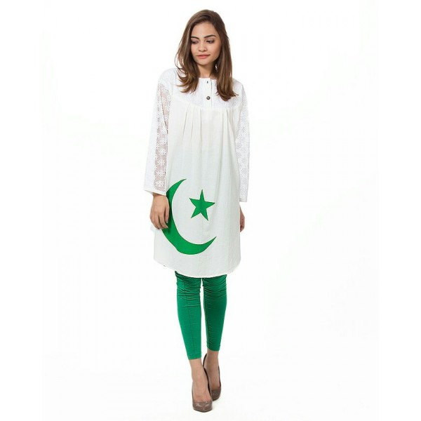 14 August Pakistan Kurti - Independence Day Special