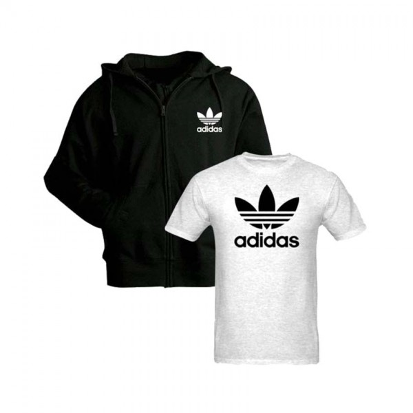 Pack of Hoodie and T shirt For him