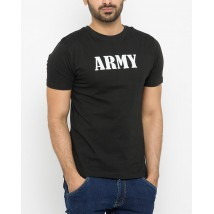 Army Graphic Black Tshirts For Mens