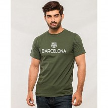 Barcelona Printed T shirt For Him