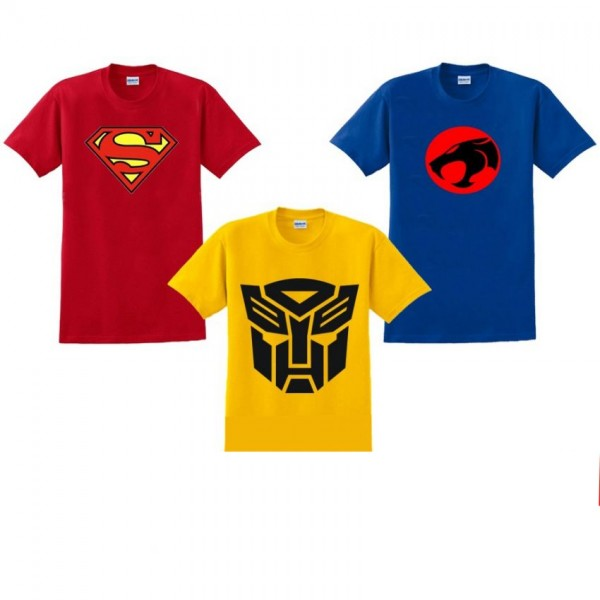 Pack of 03 Super Heroes T shirt