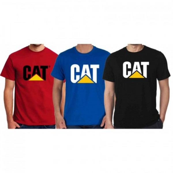 Pack of 03 CAT Graphics T shirt for him