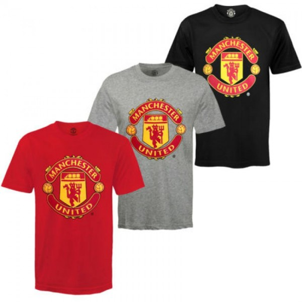 Pack of 03 Manchester Printed T shirts