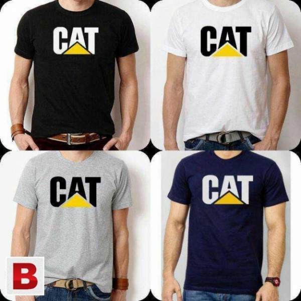 Pack of 04 Different Colors Printed Cotton T shirts