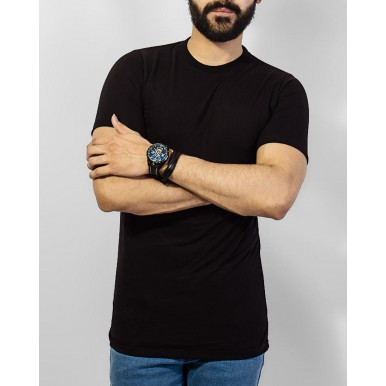 Pack of 3 Black Tshirts for Him