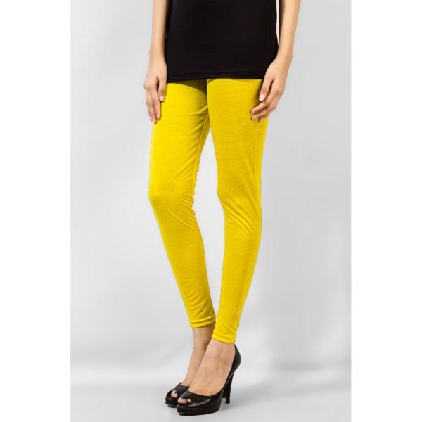 Yellow Viscose Tight
