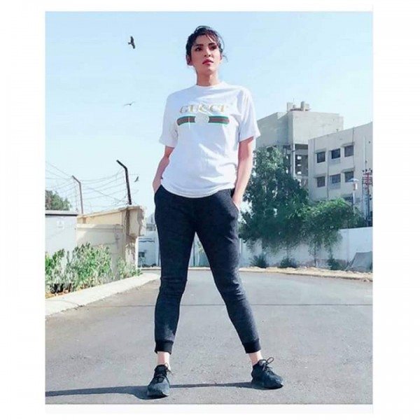 White GUCCI Printed Cotton T shirt For Her