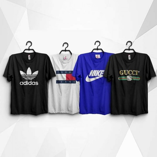 Pack of 04 Branded T shirts For Him