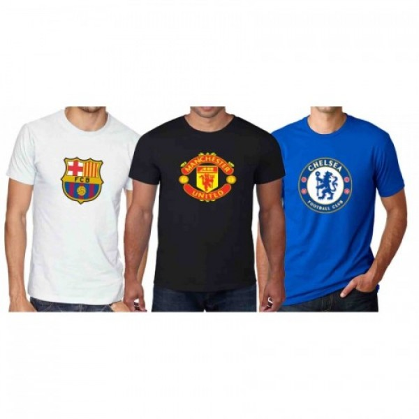Pack of 03 Football T shirts - MT29