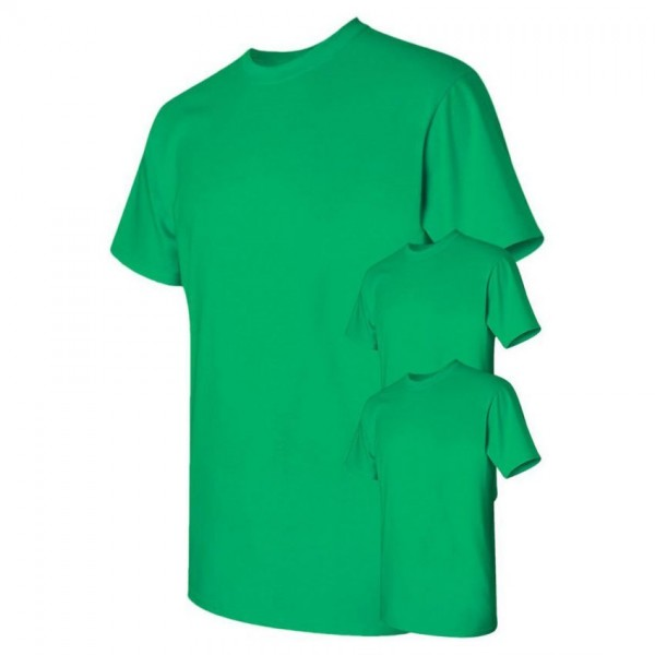 Bundle Offer Pack of 3 Plain Green T-shirts