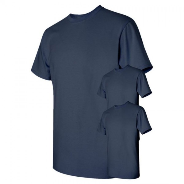 Bundle Offer Pack of 3 Plain Navy Blue T-shirts