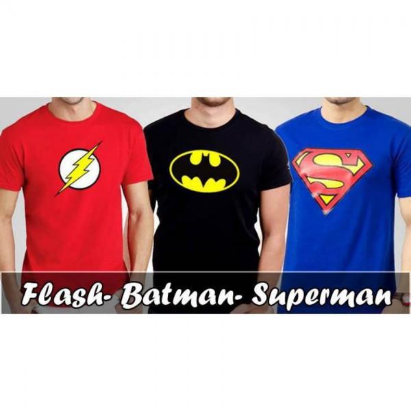 Bundle Offer Pack of 3 Super Heros T-shirts