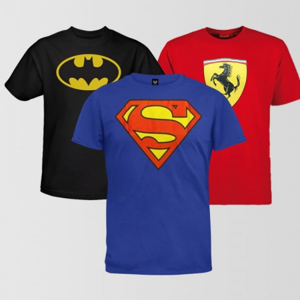 Bundle Offer For Mens - Pack of 3 Graphic T-shirts