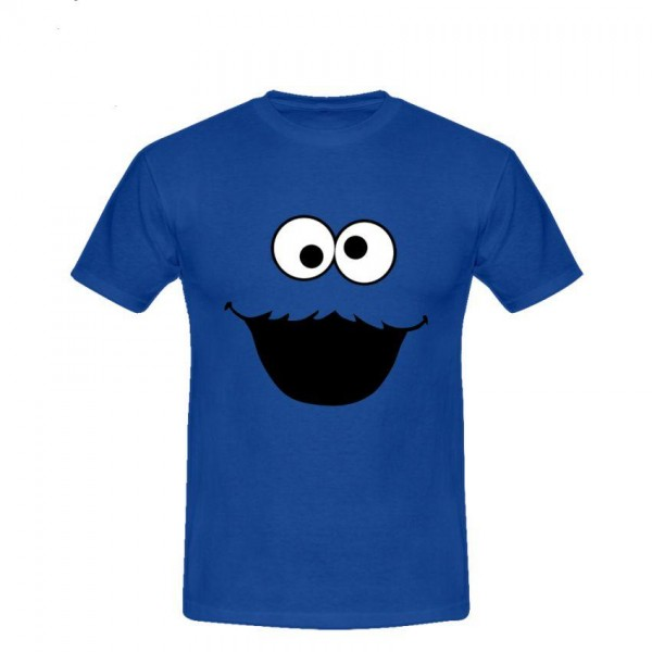 Cookie Printed Cotton T-Shirt For Him