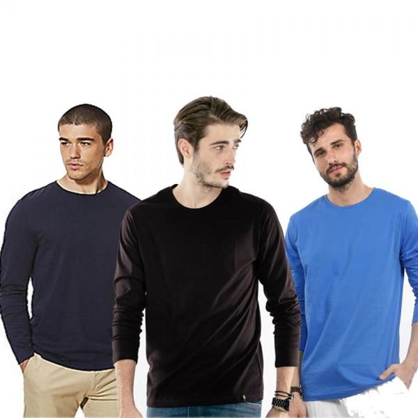 Pack of 03 Full Sleeves T shirt For him