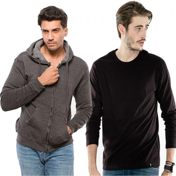 Mens Bundle of 1 hoodie and 1 T shirt