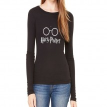Black Harry Potter Graphics T shirt For Her