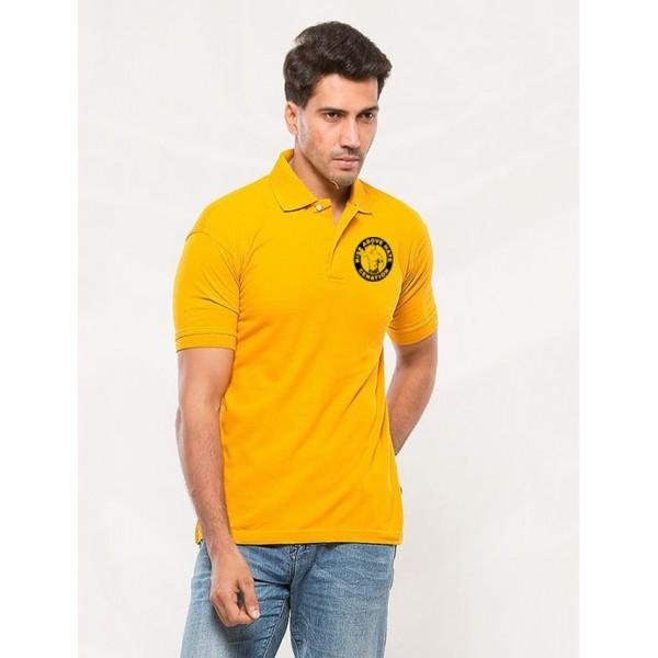 Yellow John Cena Polo Logo Shirt