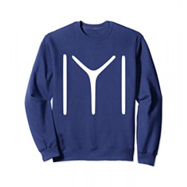 Navy Blue Ertugrul Printed Sweat Shirt For Him