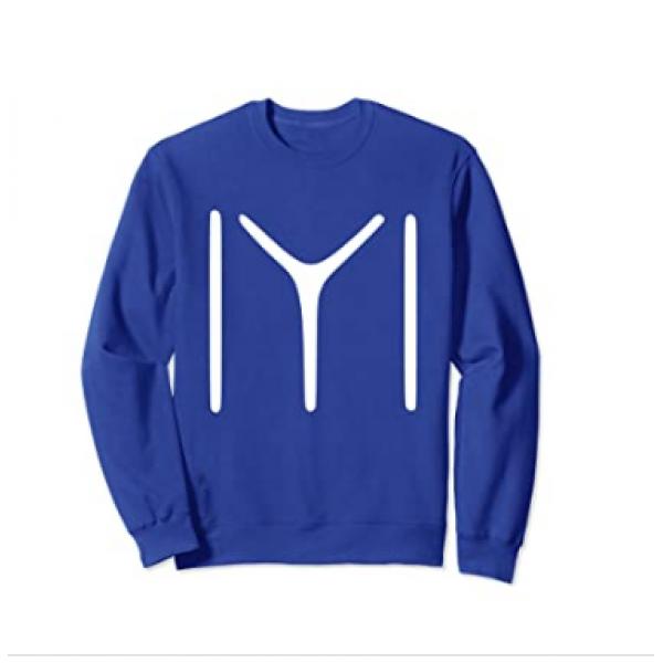 Royal Blue Ertugrul Printed Sweat Shirt For Him