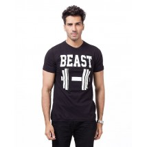 Beast Graphics Cotton T shirt For Him