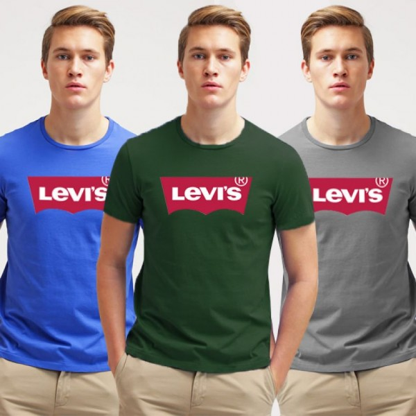 Pack of 03 Levis Cotton Printed shirts for Boys