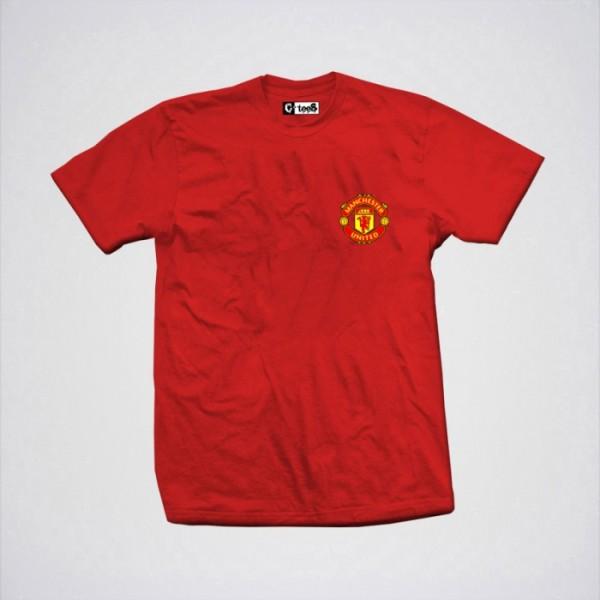 Manchster Logo Cotton T shirt For him