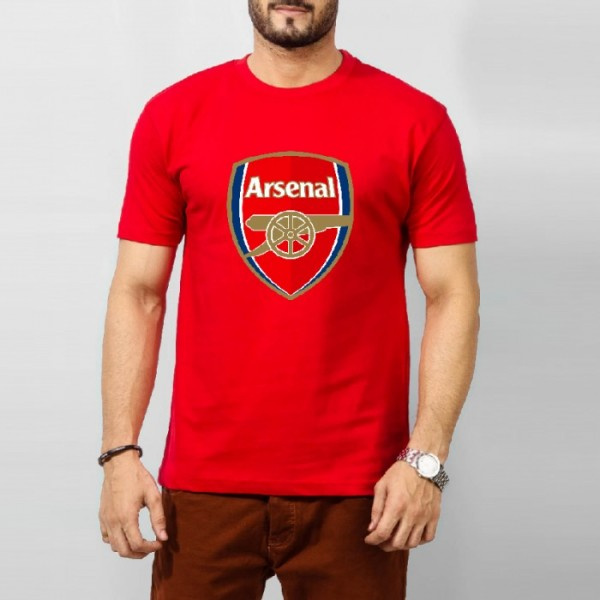 Arsenal Graphics T-shirt for men in red color