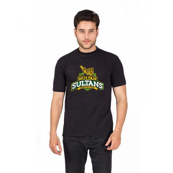 PSL Black Multan Sultan T shirt For Him