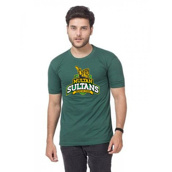 PSL Green Multan Sultan T shirt For Him
