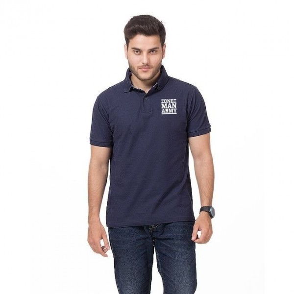 One Man Army Logo Polo Shirt For him