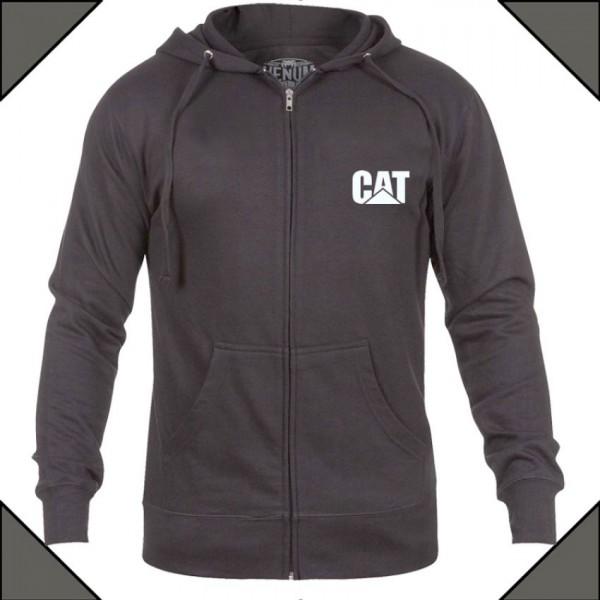CAT Logo Zipper Hoodie