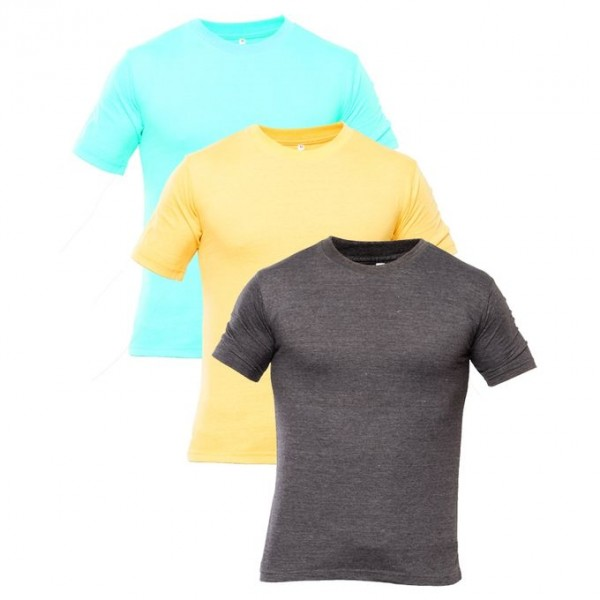 Pack of 03 Basic T shirts For Him