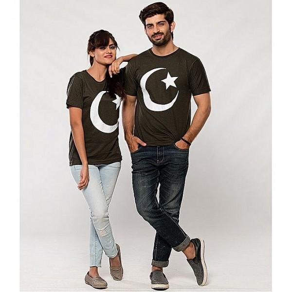 Bundle of Pakistan T shirt For Couple