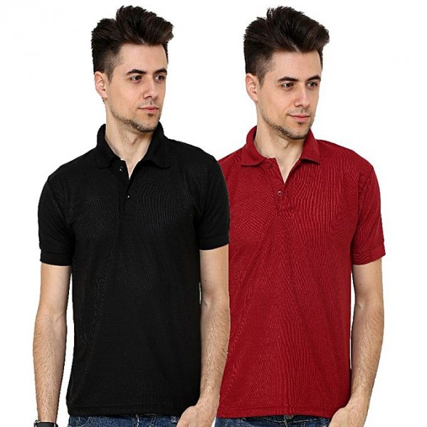 Pack of 02 Polo Shirts For Him