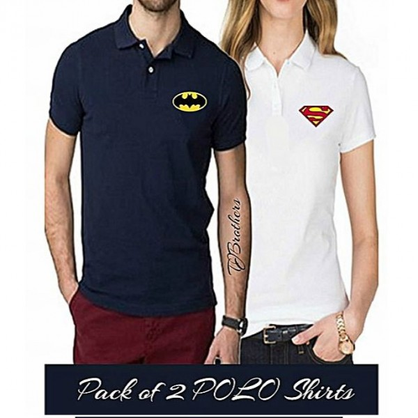 Pack of 02 Super Heroes Printed T shirts