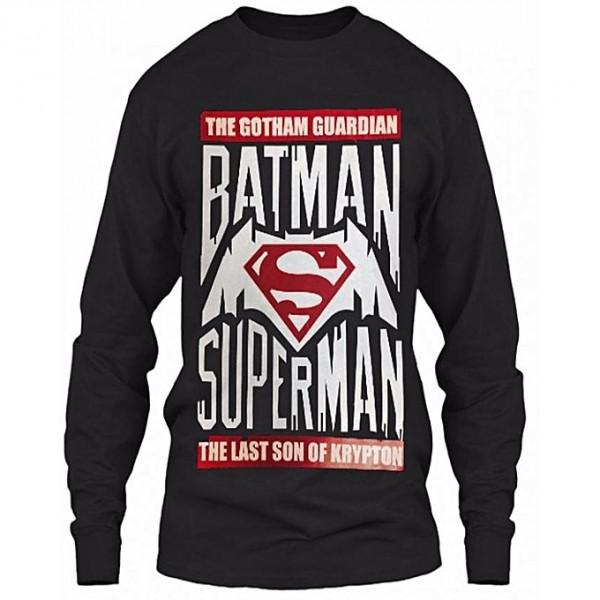 Black Superman vs Batman Sweat Shirt For Him