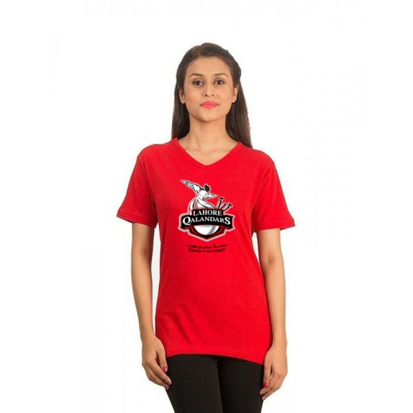 Lahore Qalender V neck T shirt For Her