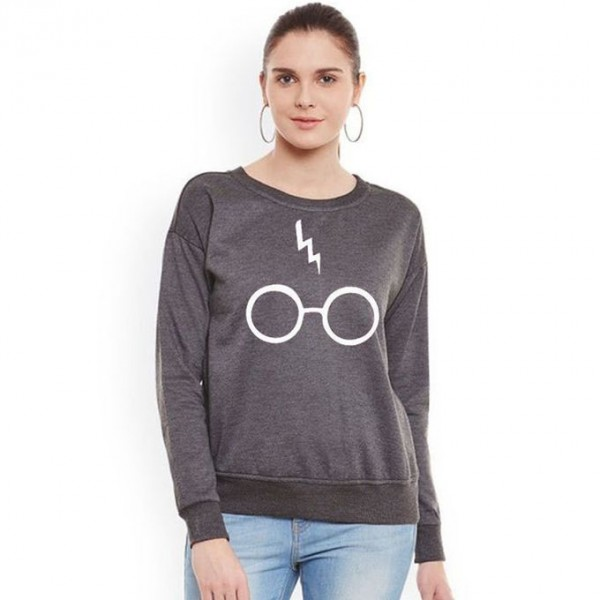 Charcoal Harry Porter Sweat Shirt For Her