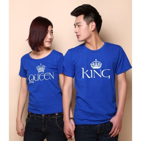 Printed T Shirt Bundle for King and Queen Couple
