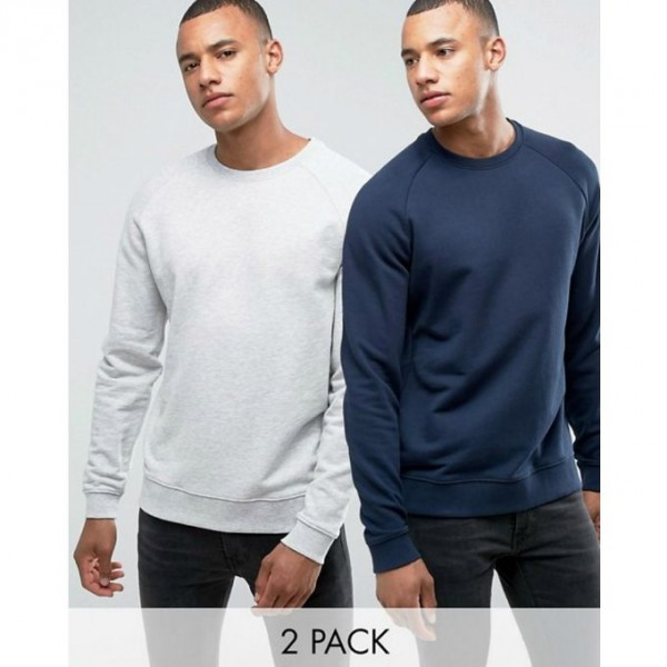 Pack of 02 full sleeves Sweat Shirts For him