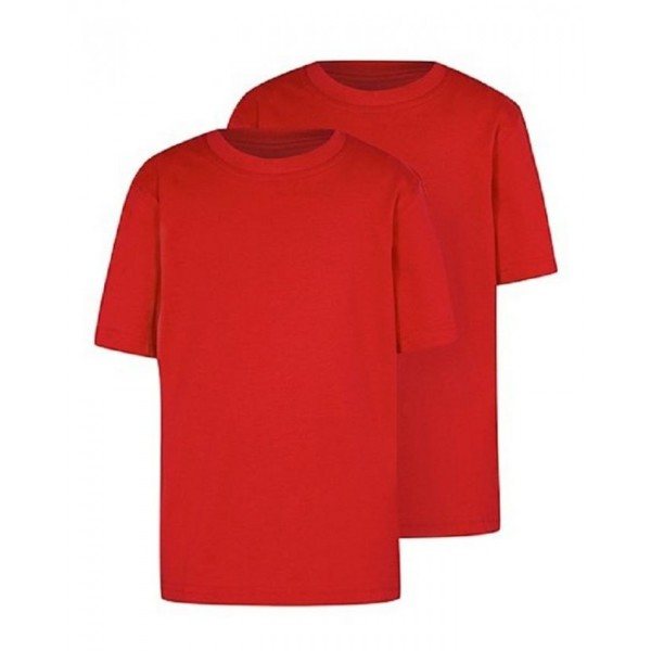Pack of 02 Round Neck Plain T shirts
